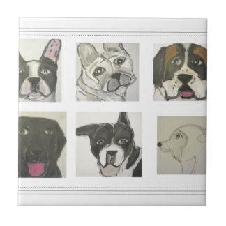 perro, perros, mascotas, ginsburg de eric, worldof azulejo