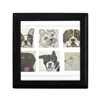 perro, perros, mascotas, ginsburg de eric, worldof caja de recuerdo