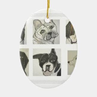 perro, perros, mascotas, ginsburg de eric, worldof ornamento de navidad