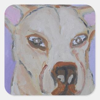 perro, perros, mascotas, ginsburg de eric, worldof calcomanias cuadradas