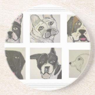 perro, perros, mascotas, ginsburg de eric, worldof posavasos personalizados