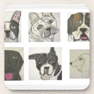 perro, perros, mascotas, ginsburg de eric, worldof posavasos de bebida