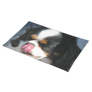 Perro Placemat del perro de aguas Manteles