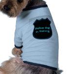Perro policía… ropa de perro