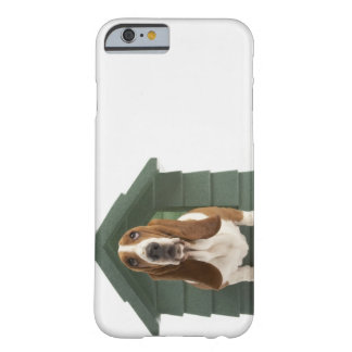 Perro por la caseta de perro funda para iPhone 6 barely there