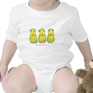 Perro precioso trajes de bebé