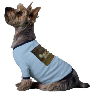 perro que pinta el perro de aguas de Blenheim Camiseta Con Mangas Para Perro