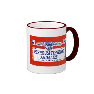 Perro Ratonero Andaluz Taza A Dos Colores