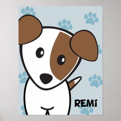 Perro Rockets Cartoons™ - Remi Impresiones