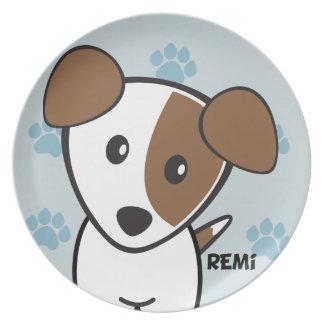 Perro Rockets Cartoons™ - Remi Plato De Cena