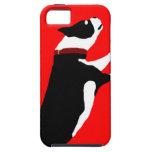 perro rojo iPhone 5 Case-Mate cárcasas