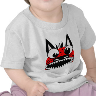 Perro rojo camisetas