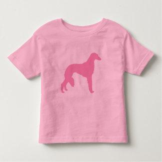 Perro rosado de Saluki Tshirts