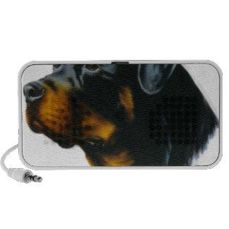 perro-rottweiler mp3 altavoz