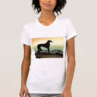 Perro Saluki del desierto T Shirts