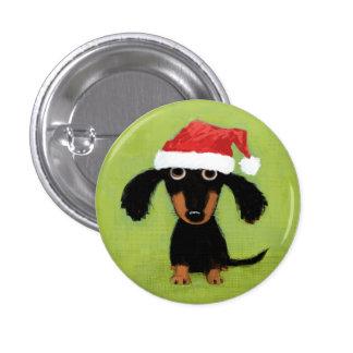 Perro Santa de la salchicha de Frankfurt Pin