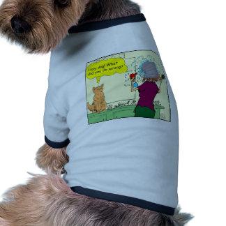 ¡Perro santo Qué lo hizo usted perjudica - colore Camisetas Mascota