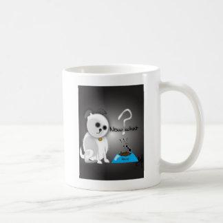 Perro says... classic white coffee mug