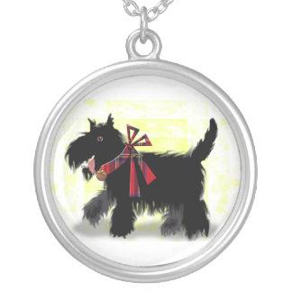 perro scotty feliz collar personalizado