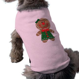 Perro Seater del pan de jengibre Playera Sin Mangas Para Perro