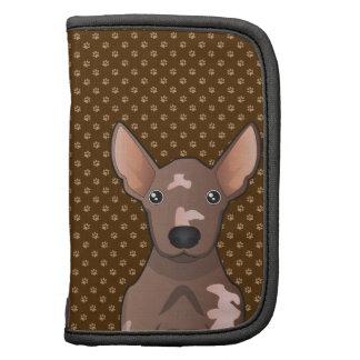 Perro sin pelo mexicano (Xoloitzcuintle) Organizador