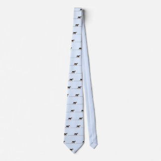 Perro sucio corbatas personalizadas