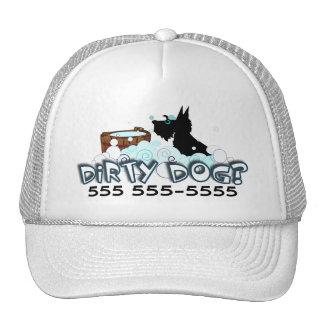 Perro sucio gorra