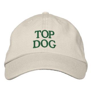 Perro superior gorras de béisbol bordadas