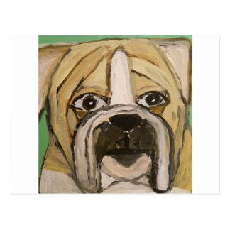 perro, tarjeta, feliz, ginsburg de eric, worldofer tarjeta postal