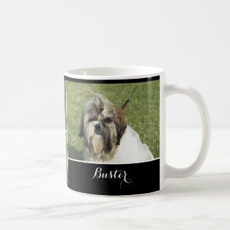 Perro - texto personalizado taza de café