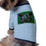 "Perro tóxico ""huesos "" camisa de mascota"