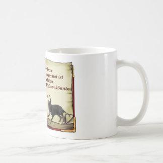 … perro último de lucha. taza de café