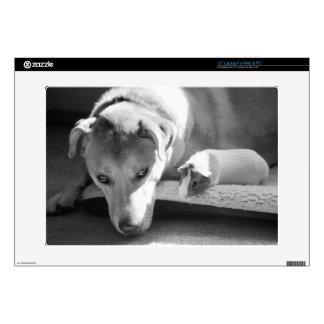 Perro y conejillo de Indias piel del ordenador por Portátil Skins