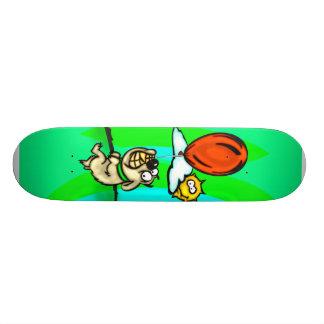 Perro y globo patin personalizado