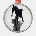perro y sombra posterized ornamentos de reyes magos
