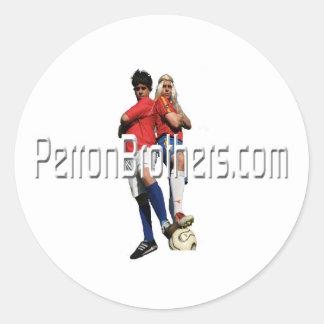 PerronBrothers sticker (round)