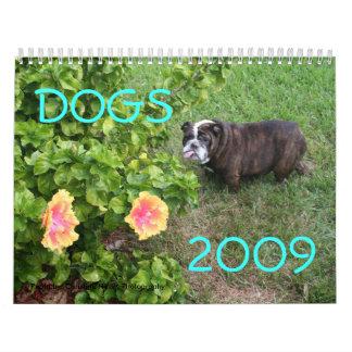 Perros 2009 calendarios
