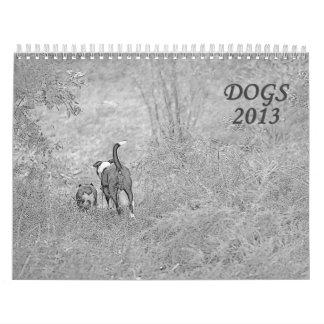 Perros 2013 calendario de pared