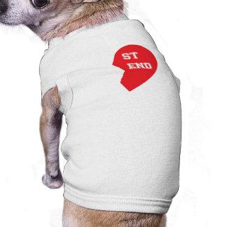 Perros a juego del mejor amigo playera sin mangas para perro
