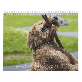 Perros adorables 24 calendarios del mes