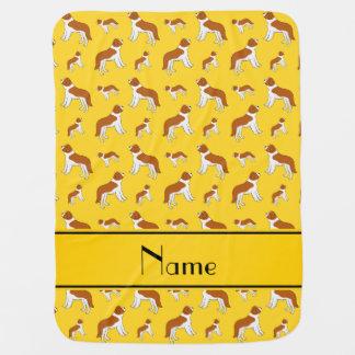 Perros amarillos conocidos personalizados de St Mantitas Para Bebé