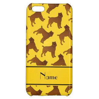 Perros amarillos conocidos personalizados del