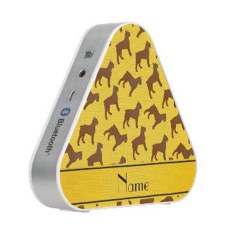 Perros amarillos conocidos personalizados del DES Altavoz Bluetooth