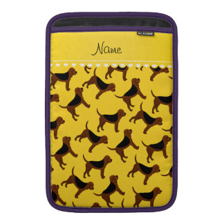 Perros amarillos conocidos personalizados del fundas MacBook