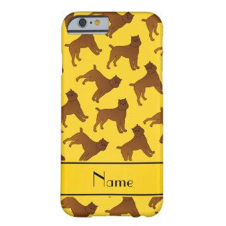 Perros amarillos conocidos personalizados del funda para iPhone 6 barely there