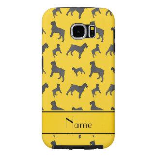 Perros amarillos conocidos personalizados del fundas samsung galaxy s6