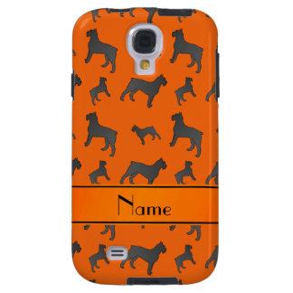 Perros anaranjados conocidos personalizados del funda para galaxy s4