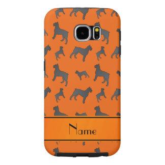 Perros anaranjados conocidos personalizados del fundas samsung galaxy s6