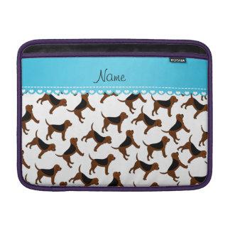 Perros blancos conocidos personalizados del fundas MacBook