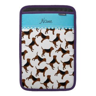 Perros blancos conocidos personalizados del fundas para macbook air